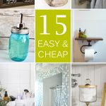 Easy Cheap Bathroom Decor