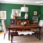 Emerald Green Dining