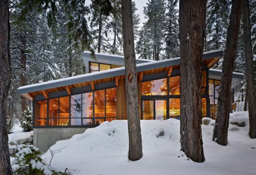 Examples Modern Houses Sloped Roof