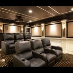Exterior Classy Home Theater Design Completing Personal Entertainment Features Luxury