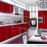 Extremely Hot Red Kitchen