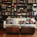 Fascinating Library Styles Contemporary Home Interior
