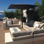 Fendi Outdoor Furnishes Club Costes Albane Marriott Hotel Cannes