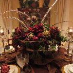 Floral Tablecloth Ideas Dining Room Table Centerpieces Ceramic Cutlery Sets Wood