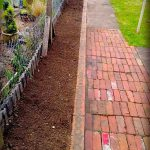 Flower Bed Brick Wall Dust