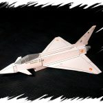 Flyable Modern Jets Realistic Paper Airplane