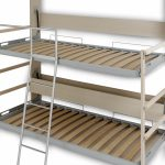 Fold Down Bed Trailer Soulful Saving Bunk Beds Wall