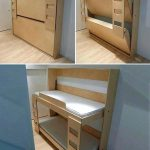 Fold Down Bunk Beds Trailer Folding Bed Enclosed Streamline Twin Rvc