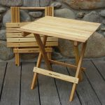 Folding Wooden Table Chairs