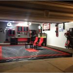 Garage Interior Ideas Cool Lighting Contemporary Home Walls Decor