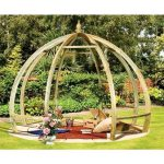 Grange Apollo Pergola Timber Wooden Garden Structure