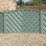 Grange Painted Elite Lunairs Wooden Fence Panels Internet