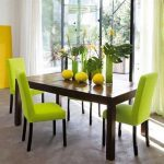 Green Dining Room Color Cheery Ambiance Actual