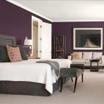 Grey Purple Bedroom Rooms Color Scheme