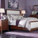 Grey Purple Bedrooms Bedroom Makeovers