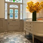Hallway Tile Ideas Hall Victorian Tiled Floor