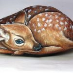 Hand Painted Rocks Wildlife Animals
