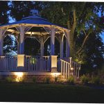 Hanging Solar Lights Gazebo