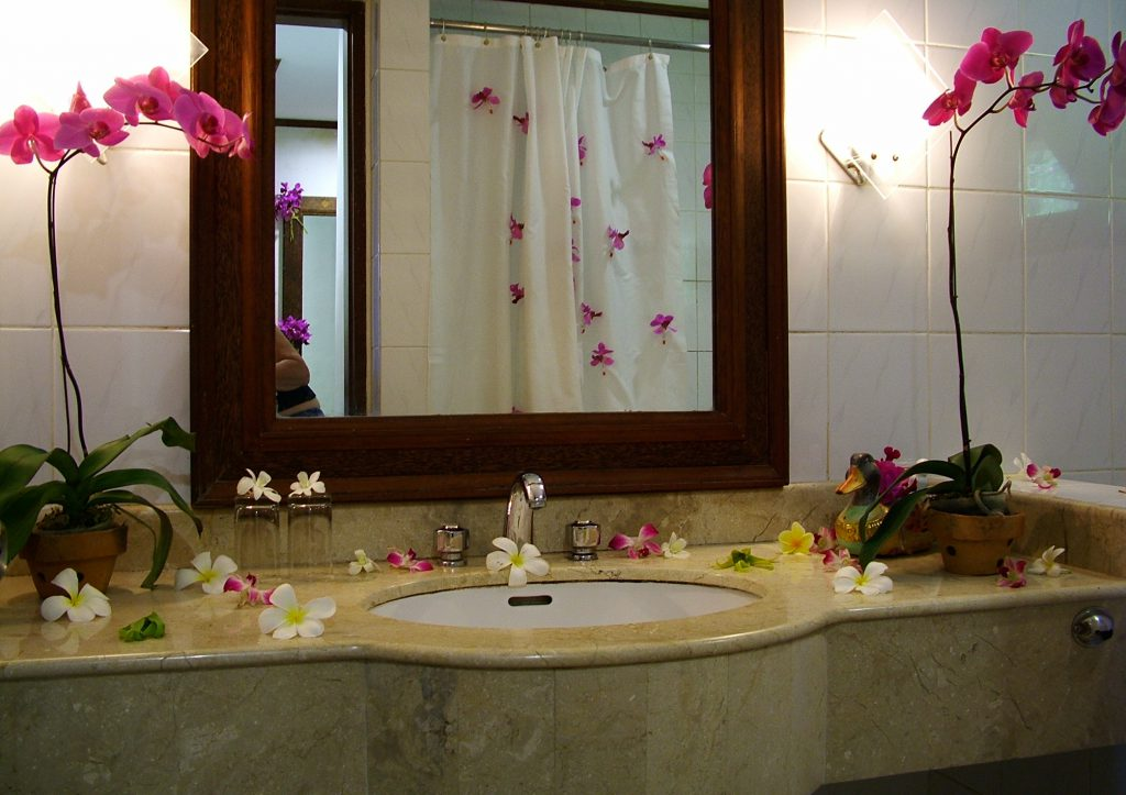 Have More Creative Bathroom Simple Decor