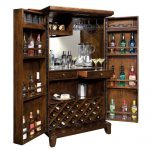 Home Bar Wine Cabinet Howard Miller Rogue Valley