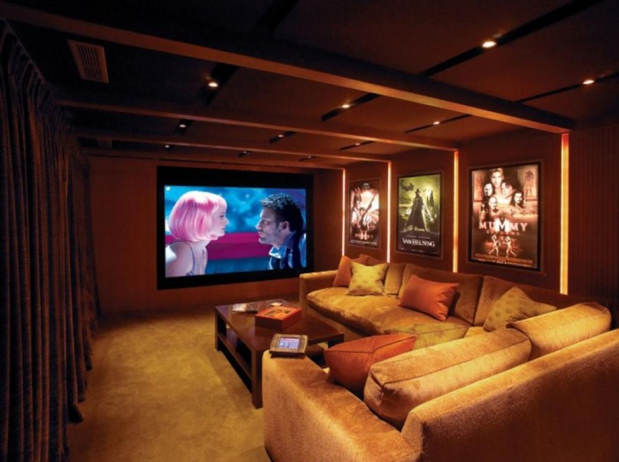 Home Decor Ideas Theater Room