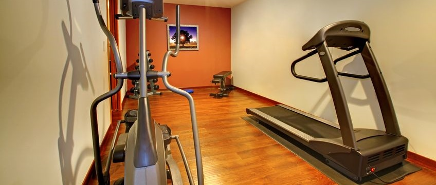 Home Gym Ideas Small Spaces