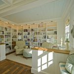 Home Library Design Ideas Linking Space Living