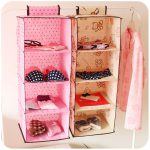 Home Storage Wardrobe Closet Organizer Bag Multi Layer Hanging