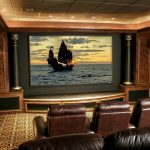 Home Theater Decor Exotic House Interior