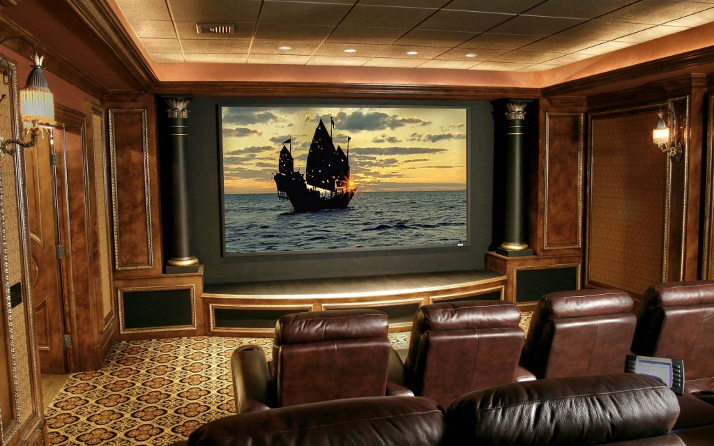 Home Theater Interior Designs Decorating