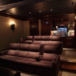 Home Theater Room Designs Exemplary Design Glamorous