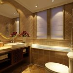 Hotel Room Bathroom Interior Design