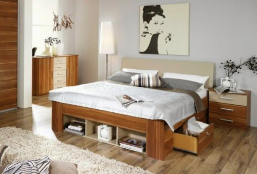 Ideas Double Bed Storage Drawers
