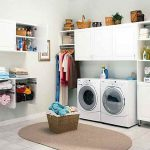 Ideas Laundry Room Small Space Storage