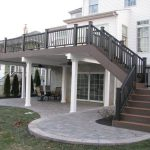Ideas Two Story Deck Pinterest Second