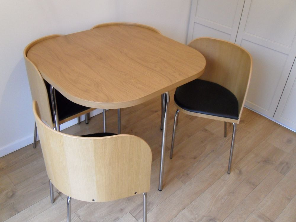 Ikea Small Space Saving Dining Table Chairs
