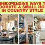 Impressive Ways Decorate Small Home Country