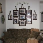 Inspiring Wall Decorating Ideas Photos House Owner Wooden Frame Above Cozy