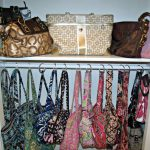 Interior Awesome Purse Organizer Closet Bring Tidy Look Your House