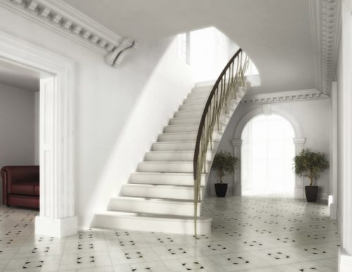 Interior Design Stunning Straight Staircase Landing Support Ideas Sipfon Home