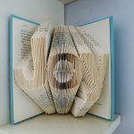 Joy Home Decor Holiday Folded Book Art