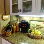 Kitchen Counter Decor Design