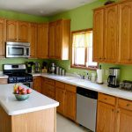 Kitchen Green Colors Walls Choose