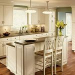 Kitchen White Small Island Open Designs