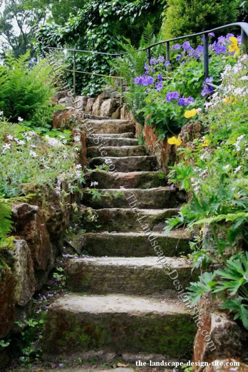 Landscaping Ideas Steps Hill