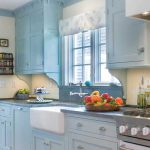 Light Blue Kitchen Cool