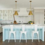 Light Blue Kitchen White