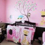 Little Girl Bedroom Themes Zampco Also Baby Pink Room Decorating Decoration