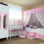 Little Girl Pink Bedroom Ideas Interior