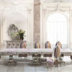Long Rectangular Table Classic Dining Room